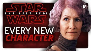 Every New Character You 39 Ll Meet In Star Wars The Last Jedi