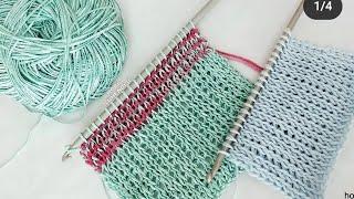 GÖRENLER ŞİŞLE ÖRDÜM SANIYOR😃😃COOL 😉😉 #ÖRGÜMODELİ #crochet 🎇🎇🎇