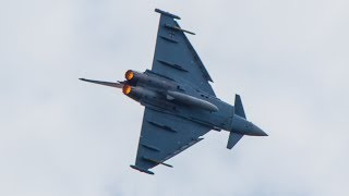 Eurofighter Typhoon (German Air Force) - Full Display at ILA Berlin Air Show 2014