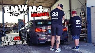 TEIL 2 BMW M4 CABRIO LCI mit Johannes / HAUBE & OLED RÜCKLEUCHTEN VOM GTS