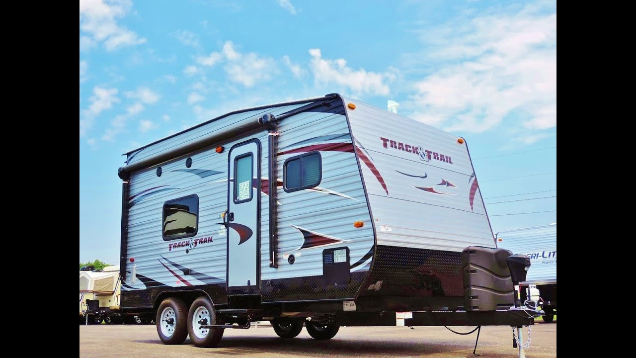 2017 Track And Trail 17rth Toy Hauler