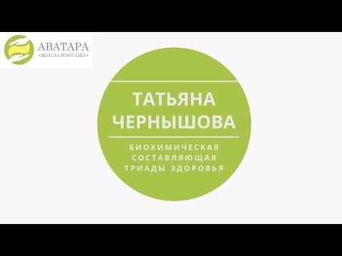 Татьяна Чернышова. Биохимическая составляющая триады здоровья.