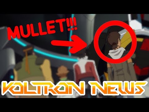 SEASON 3 EARLY PREMIERE - SDCC Poster, Lance's Mullet, Hunk's Food And Lotor   Voltron News