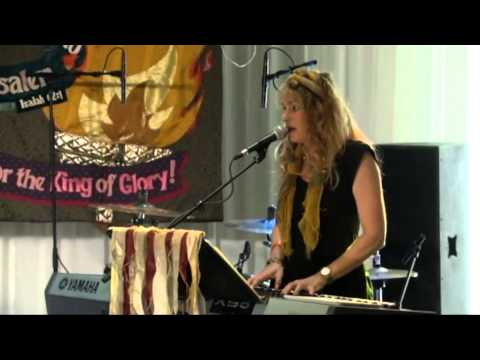 Karen Davis With Maurice Sklar, Sept  5, 2013, Jerusalem, All Nations Convocation