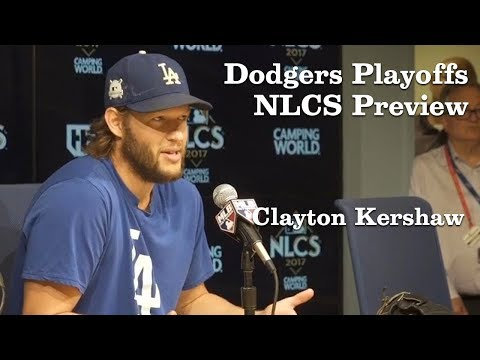 Clayton Kershaw on learning from last year's NLCS | Los Angeles Times