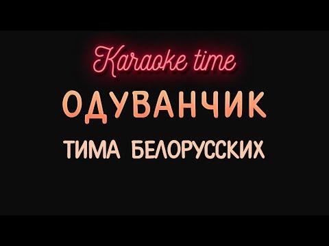 Тима Белорусских - Одуванчик (караоке)