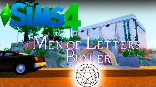 SUPERNATURAL - Строим в The Sims 4 Бункер Хранителей Знаний