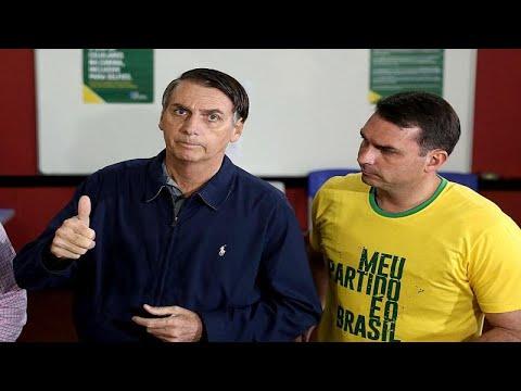 مرشح اليمين المتطرف يفوز في الجولة الأولى من الانتخابات الرئاسية البرازيلية…  - 08:53-2018 / 10 / 8
