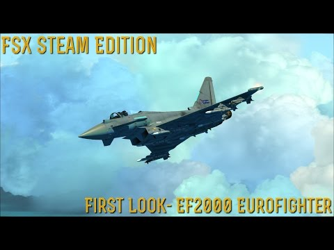 [FSX SE] FIRST LOOK: EF2000 Eurofighter- By Dino Cattaneo