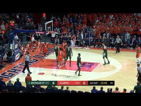 Tum Tum to Miles for a Dunk vs. Illinois