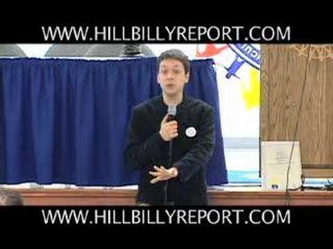 "Markos Moulitsas ""Kos"" speaking in Louisville 05/10/06"