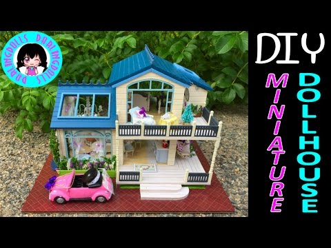 DarlingDolls ♥ Cute Full Doll House DIY Miniature Music & Lights Doll House Kit ミニチュアドールハウス 소형 인형의 집