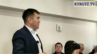"""Юрист, """"Жаштар партиясынын"""" төрагасы Чынгыз Капаров Кыргызстандын бийликке өзүнүн жеке баасын берди."""