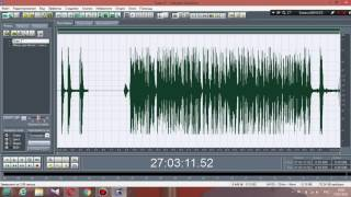3й видео урок Adobe Audition 1.5  лео