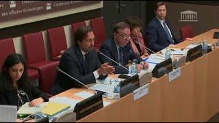 Tension entre le PDG de Lactalis et les députés de la commission