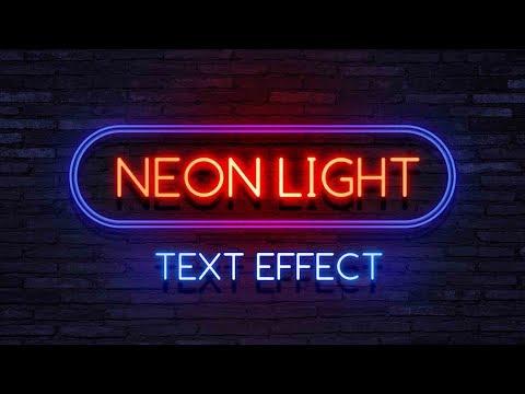 Cara membuat neon text seperti @creamypandaxx - Tutorial Photoshop