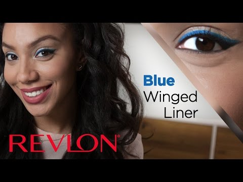 How To: Blue Winged Liner for Spring with Alyssa Forever | Revlon