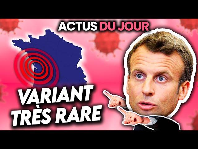 Variant très rare en France, youtubeurs payés contre le v🅰️ccin, Charlie Bit Me... Actus du jour