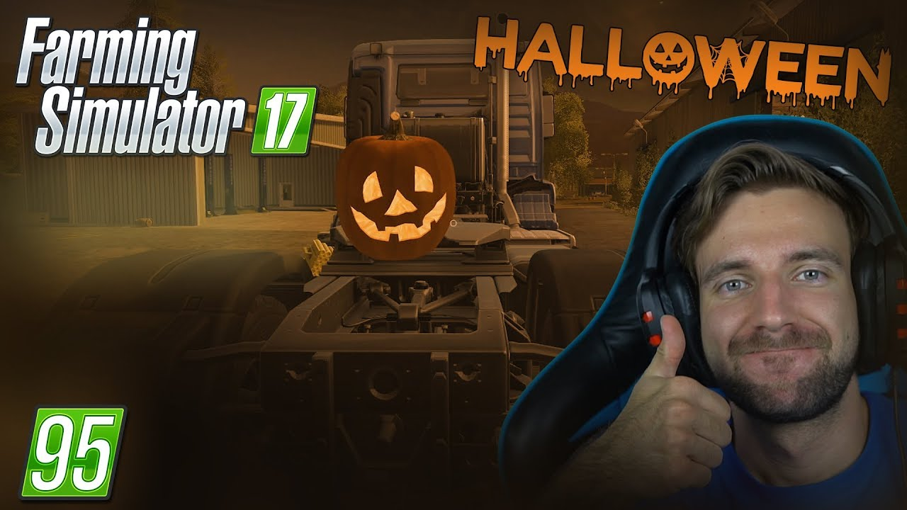 HALLOWEEN! | Farming Simulator 17 #95