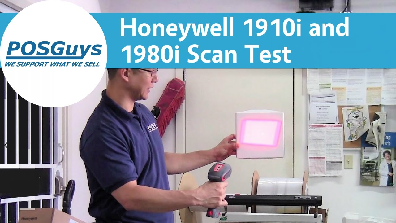 Honeywell 1910i and 1980i Scan Test - POSGuys com