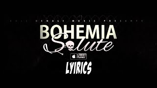Salute | Bohemia (Single) | Full Lyrics Video | HD