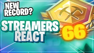 STREAMERS REACT to *66 POINTS* Pop-Up Cup!