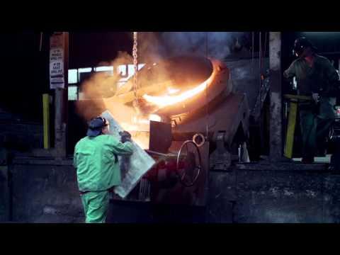 Iron Foundry Pour