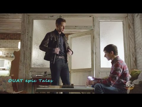 Once Upon A Time 6x18 Henry Rewritng the Storybook Season 6 Episode 18