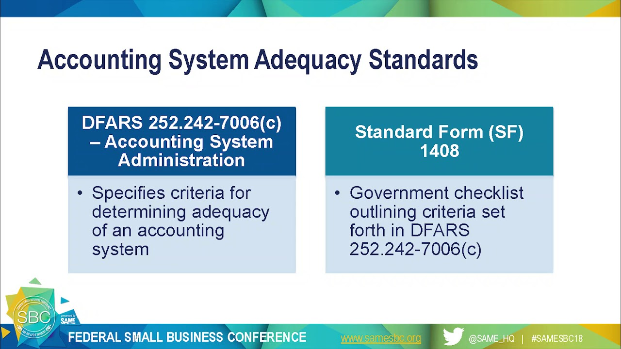 DCAA Accounting System Compliance for Small Business - YouTube