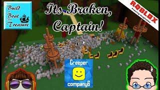 Roblox - costruire una barca per il tesoro! -con Arg! CreeperCompany6