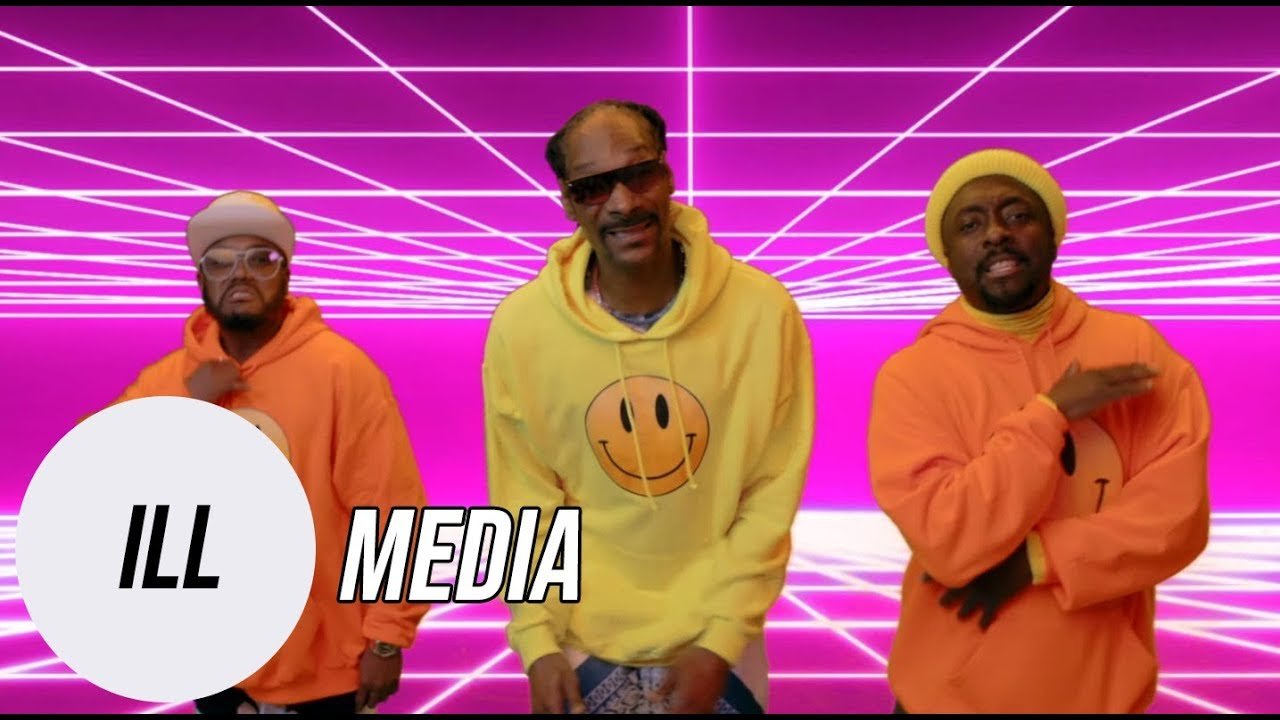 Black Eyed Peas Release A New Music Video w/ Snoop Dogg And It's All About Positive Vibes