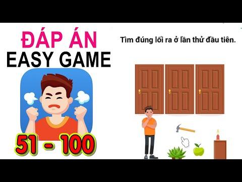 Easy Game - Đáp án level 51 - 100 | Trò chơi Trí não & Câu đố Trí tuệ