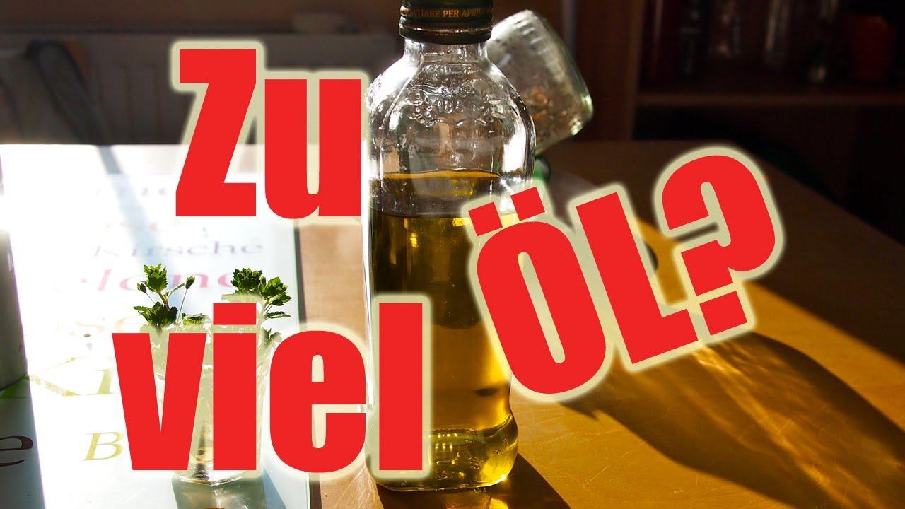 Olivenöl - Wie viel ist zu viel? (Gesunde Ernährung) [VEGAN]