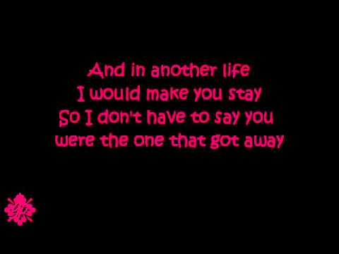 The One That Got Away - Katy Perry (Lyrics)