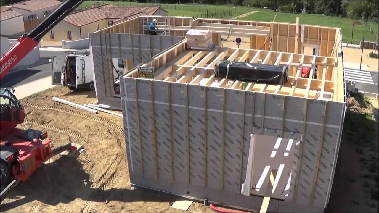 Top etapes pour construire maison ossature bois with les for Etape a suivre pour construire sa maison