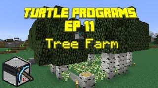 ComputerCraft: Turtle Programs, Ep 11: Tree Farm