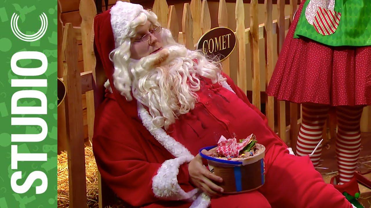 Studio C Christmas.Santa And The Christmas Blues