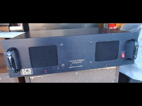 Sound Code System SCS 2350-A Power amplifier