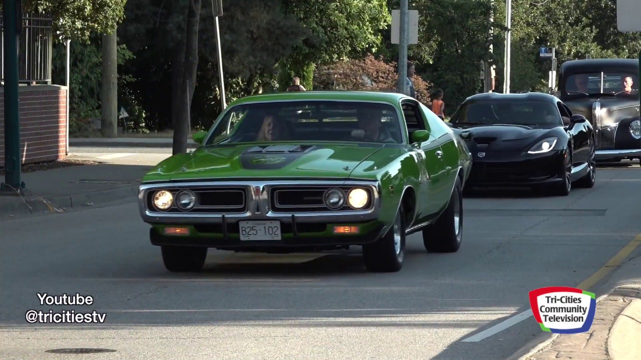 Poco Car Show City Cruise Over 200 Muscle Cars Youtube