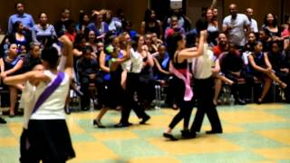 Bettirose in NYC 5th Grade Ballroom Dance Competition