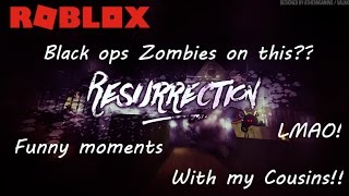 Roblox - Auferstehung | Genau wie schwarze Ops Zombies? Lustige Momente