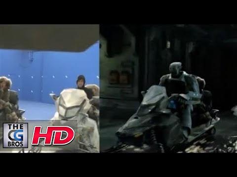 """CGI VFX Breakdowns : """"Vestel Northpole"""" - by Alex & Steffen"""