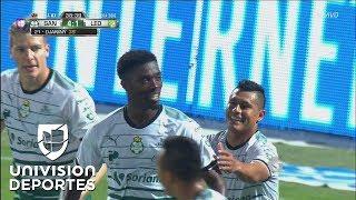¡Hat-trick de Djaniny y Santos está goleando 4-1 a la Fiera!