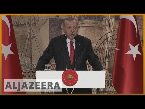 Turkey's Erdogan gives