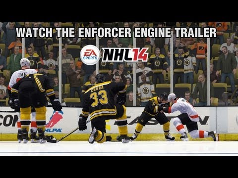 NHL 14 - Enforcer Engine Gameplay Trailer - 0 - NHL 14 – Enforcer Engine Gameplay Trailer