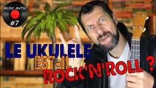 LE UKULELE EST-IL ROCK'N'ROLL ? (Feat. AËL) - rock and roll music ukulele chords