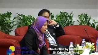 Young Corporate Malaysians 2009 - Introduction by Siti Kamariah Subki, Moderator,PWC Malaysia