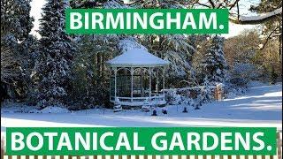 Birmingham Botanical Gardens: Ein Winter-Wonderland
