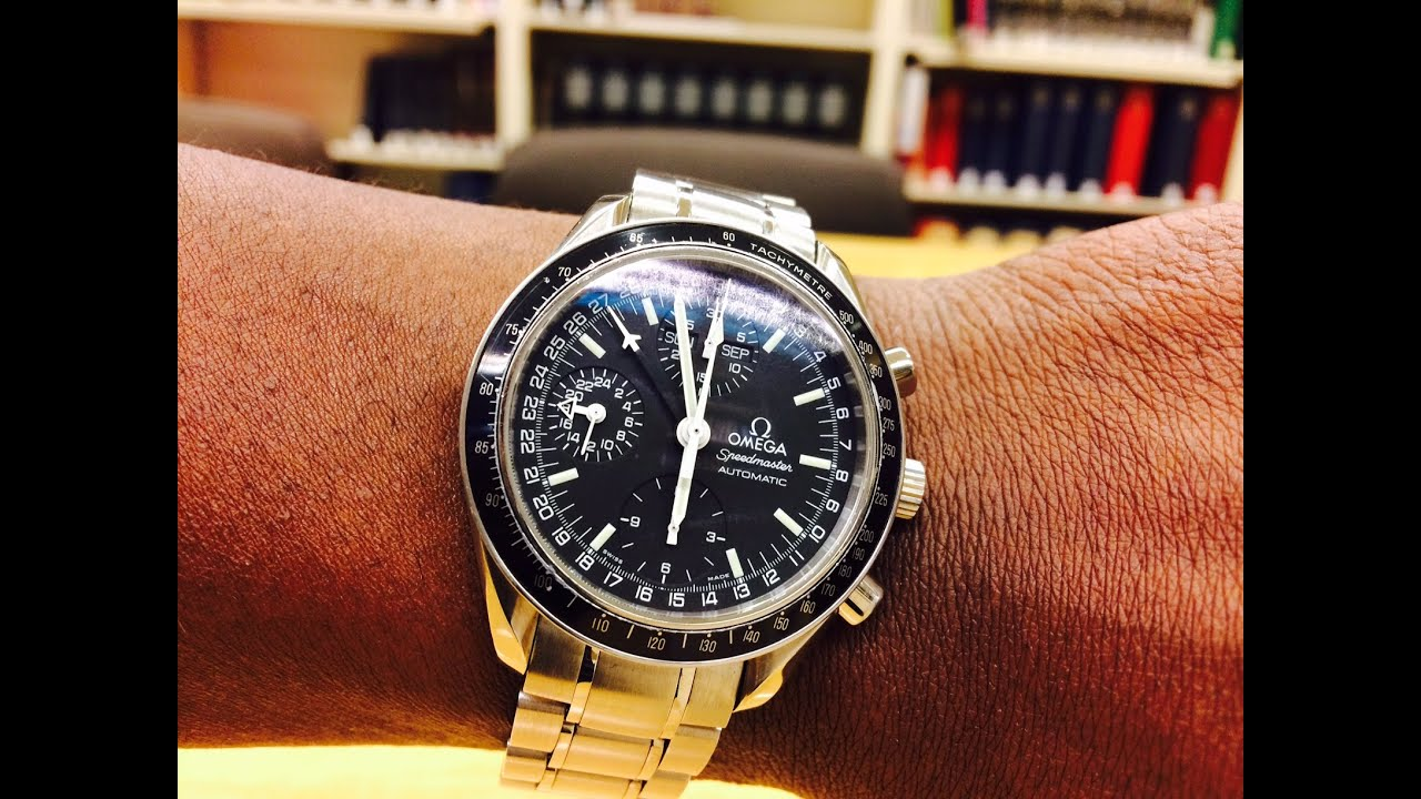 Omega Speedmaster 3520.50 Overview & Service Costs with OMEGA USA - YouTube