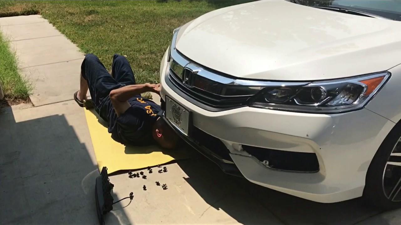 How To Install 2017 Honda Accord Fog Lights
